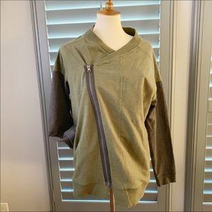 🍋Lululemon Mula Bundle Wrap Fatique Green Size 12
